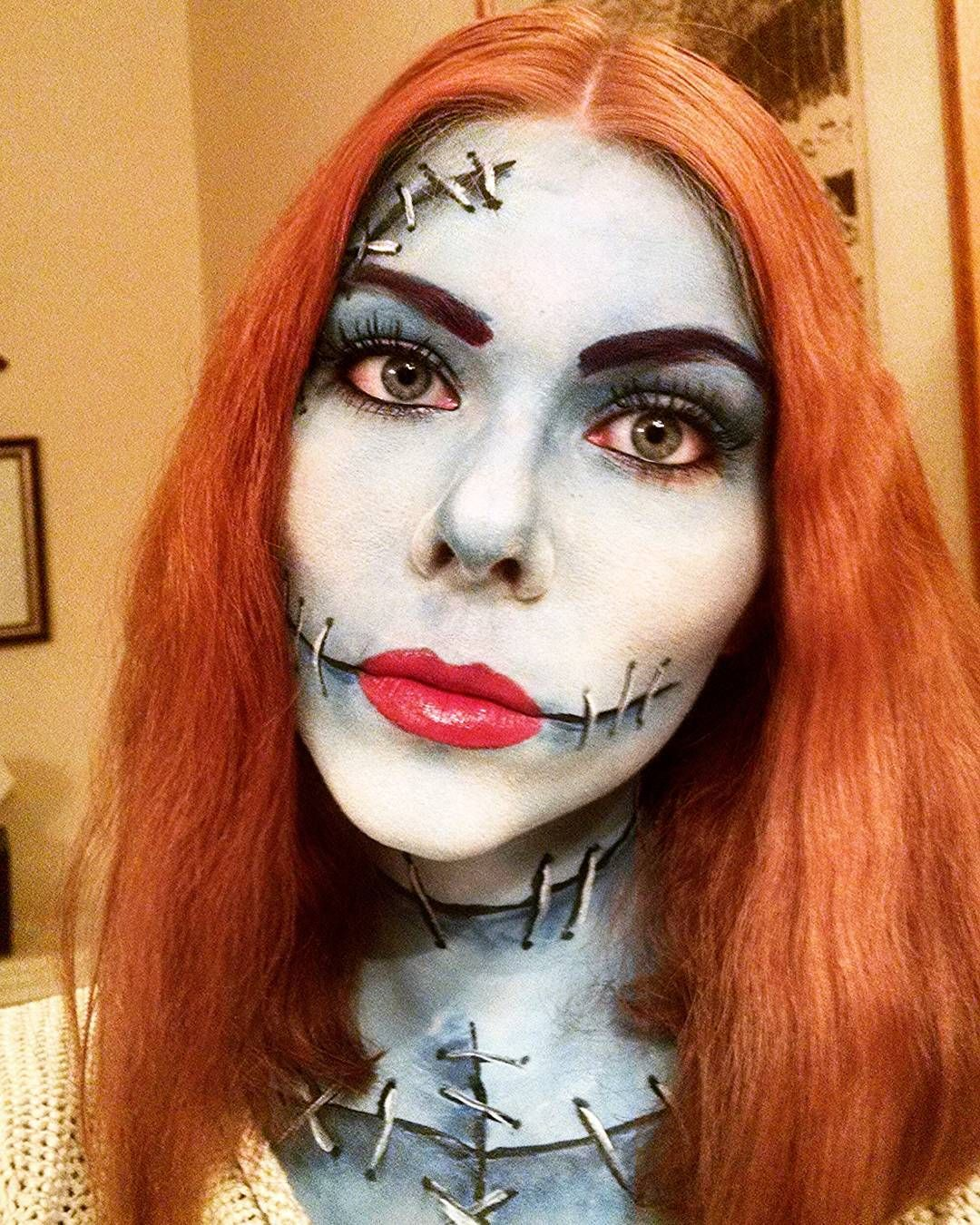 Second picture of my Sally from Nightmare Before Christmas