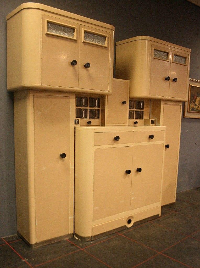 keukenkast haagse school sculptuur meubels en fabels