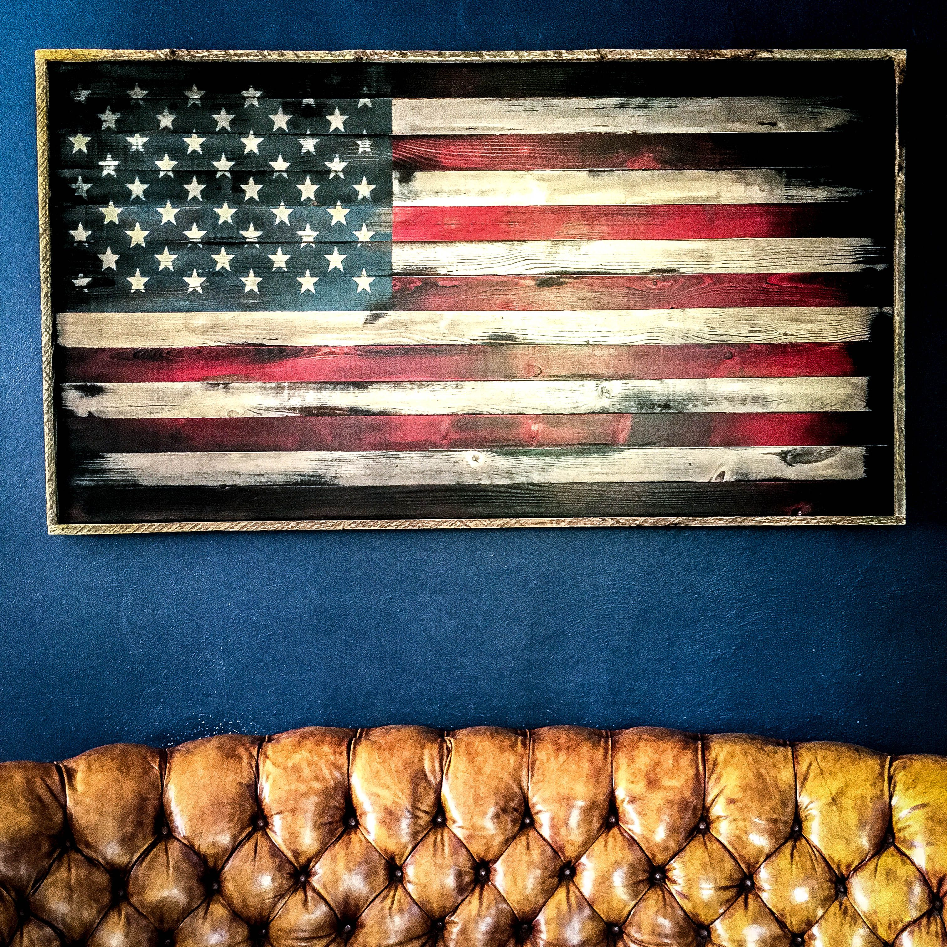 American Flag Wood // American Flag Wall Art // Wood American Flag // Rustic  American Flag // US Flag // American Flag Wood Art //