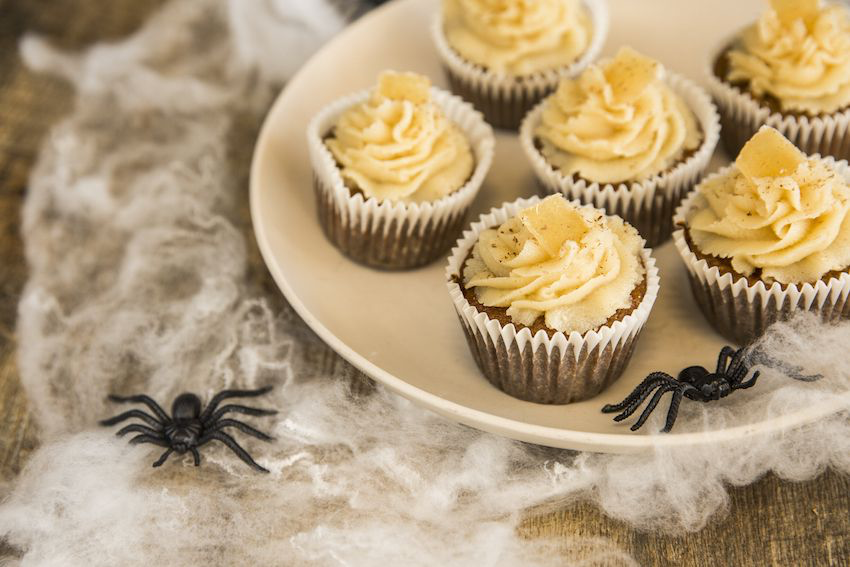 Pumpkin Spice & Everything Nice Cupcakes #pumpkinspicecupcakes