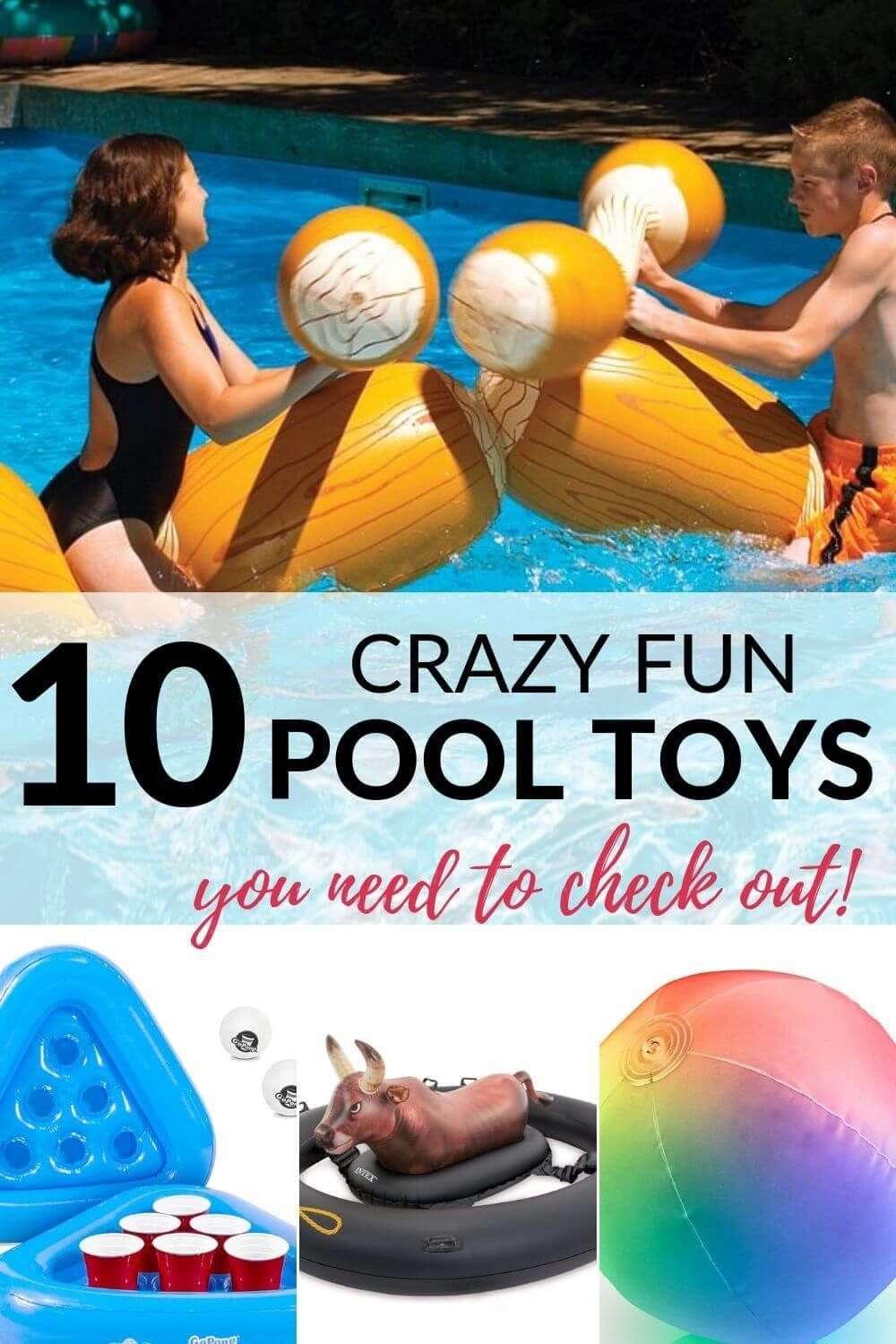 These amazing pool toys will surely have your family ...