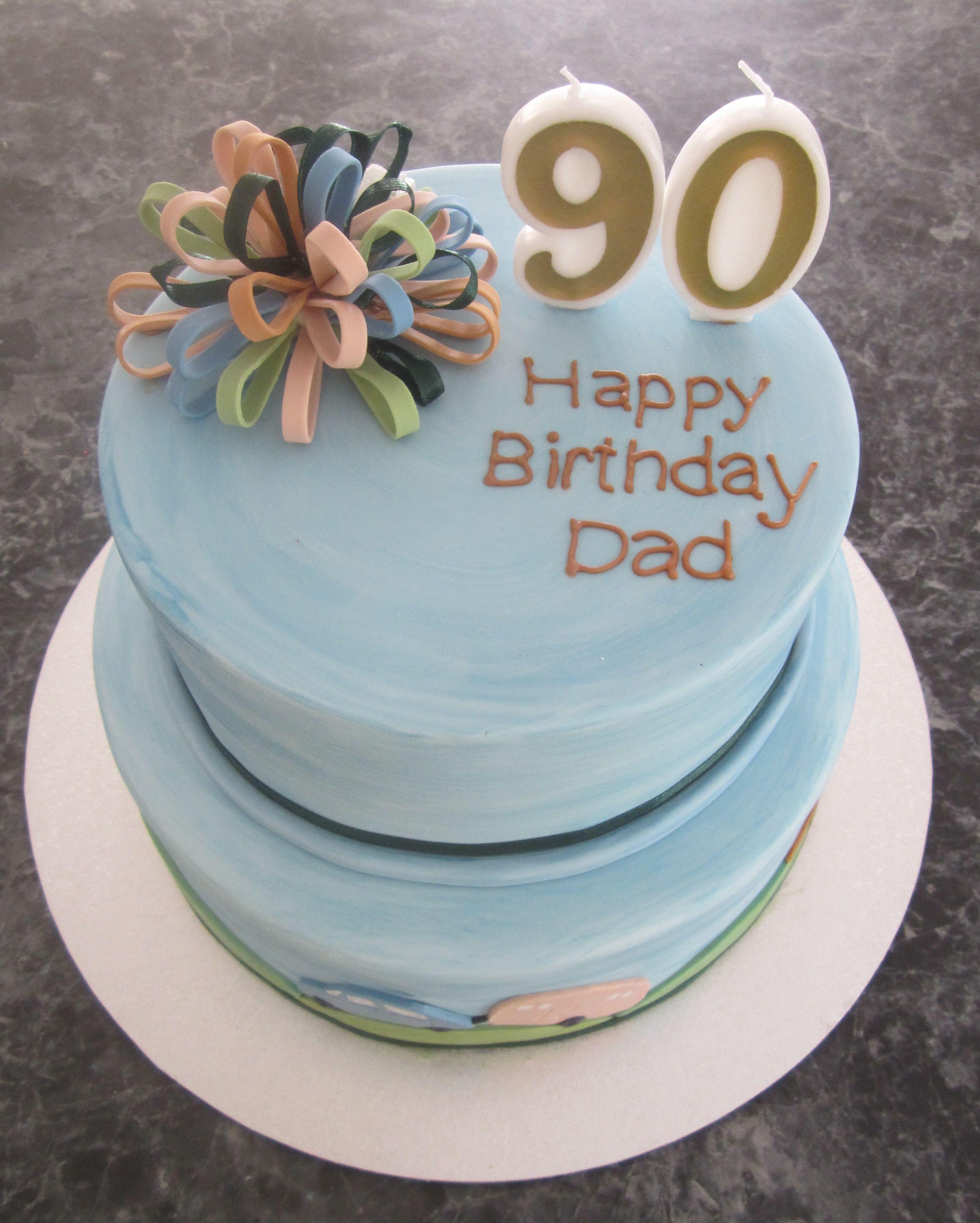 90th Birthday Cakes 40th Birthday Cake