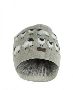 0dbbb2f2d Barbour Womens Green Sheep Beanie Hat on shopstyle.co.uk   hats ...