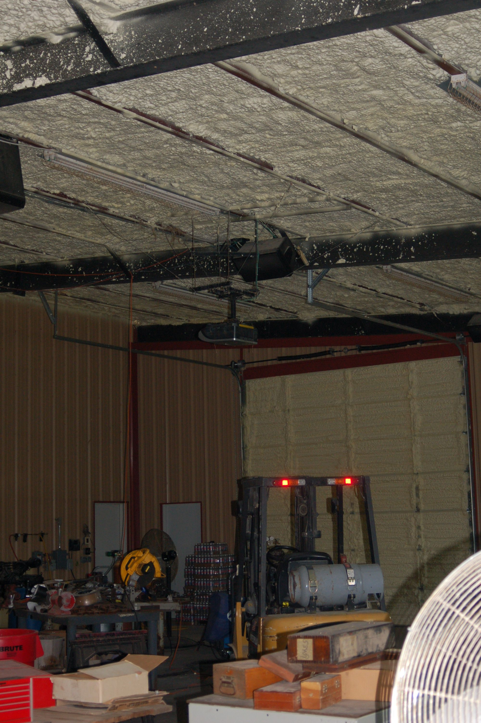 Metal building sprayed with rock crete foams sealection 500 open metal building sprayed with rock crete foams sealection 500 open cell foam publicscrutiny Images