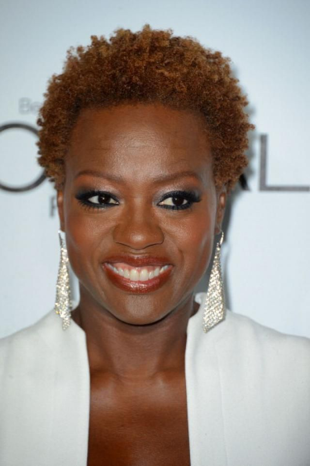 Pictures Of Natural Celebrity Hairstyles Viola Davis Things To