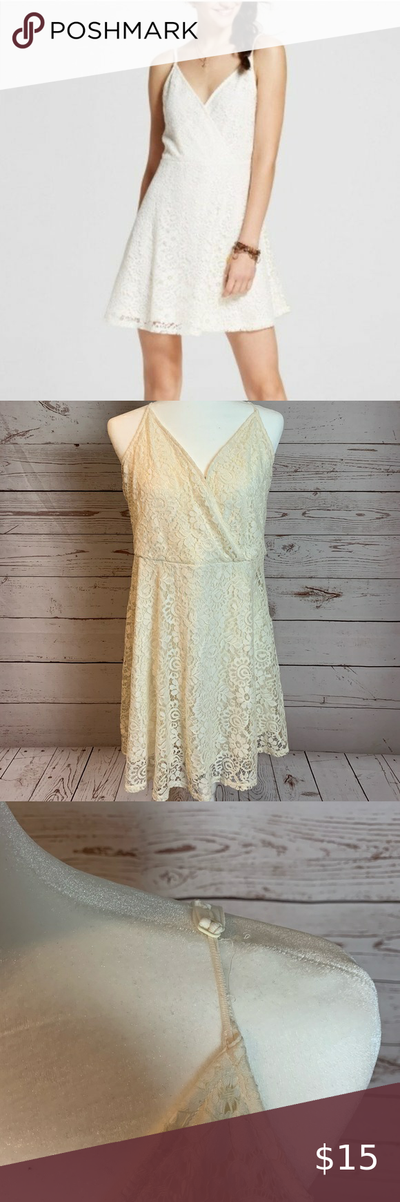 White Lace Overlay Dress 5 30 Lace Overlay Dress Dresses Lace Overlay [ 1740 x 580 Pixel ]
