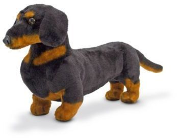 Melissa Doug Dachshund Dog Stuffed Animal Plush Dog Toys Dog