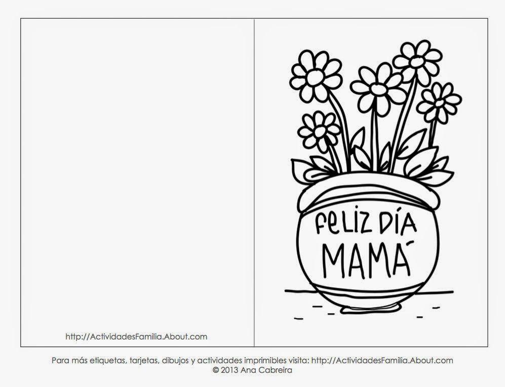 Tarjetas Del Dia De La Madre Para Pintar Para Fondo De Pantalla En Hd 1 Hd Wallp Tarjetas Del Día De Las Madres Dia De Las Madres Dibujos Del Día De