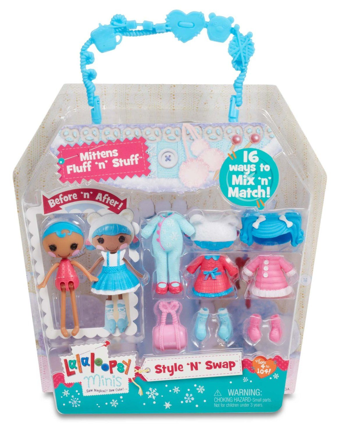 Amazon.com: Lalaloopsy Minis Style \'N\' Swap Doll- Mittens Fluff \'N ...