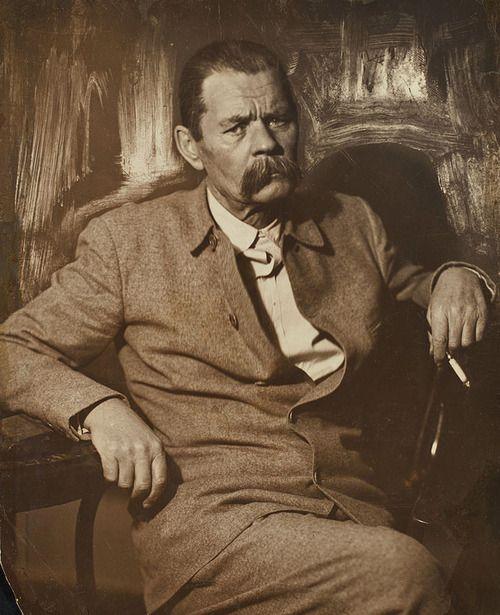 Maxim Gorki, ca 1930 -by Moissei Nappelbaum