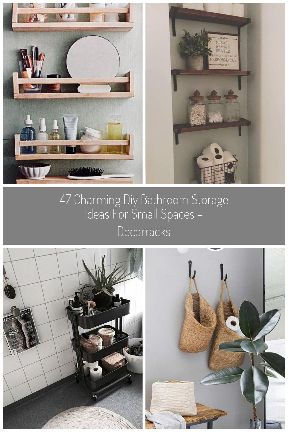 Badezimmer Aufbewahrung 47 Charming Diy Bathroom Storage Ideas For Small Spaces Decorracks Modernmimar Com Interior Diy Bathroom Traumhafte Badezimmer Und Badezimmer