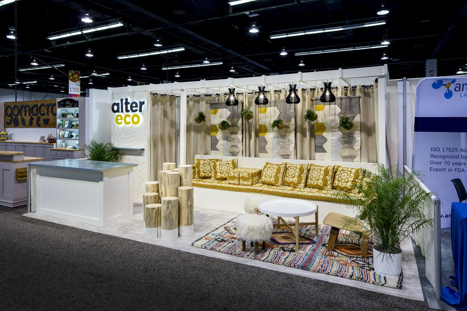 Property Exhibition Booth : Exhibits and trade show booths custom built and branded natural