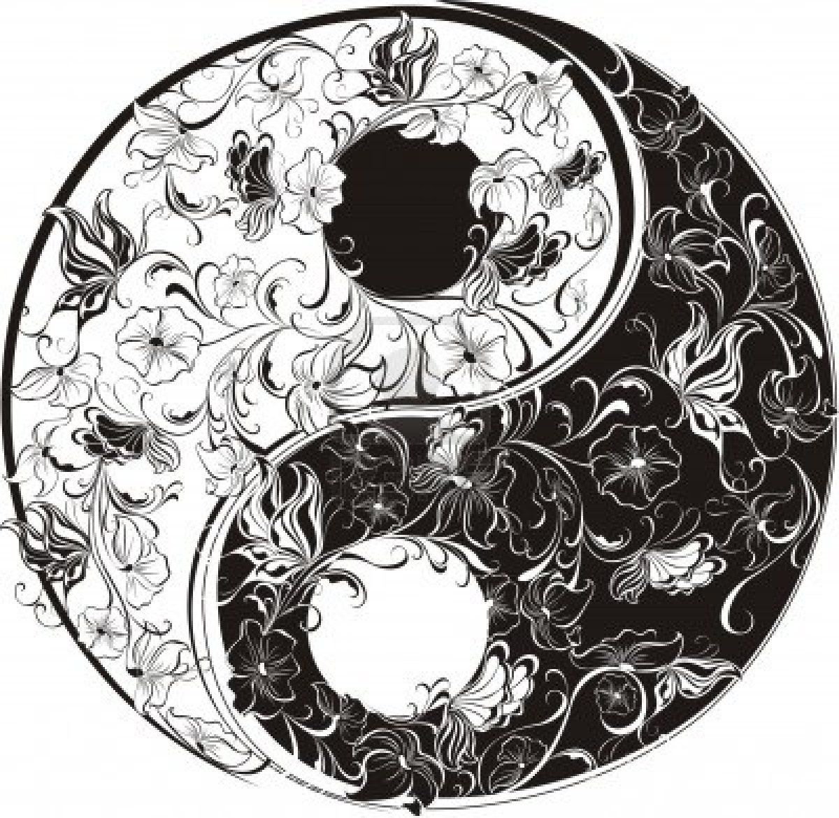 celtic symbols coloring pages reframing the patriarchy the goddess in winter 1200 x 1170 yin yang - Yin Yang Coloring Page