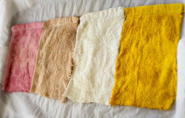DIY —Natural Dyes Using Vegetables and Other Pantry Staples ~ Krrb Blog