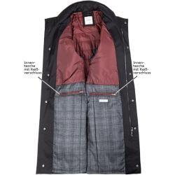 Photo of bugatti men's coat coat, cotton water-repellent, black Bugatti