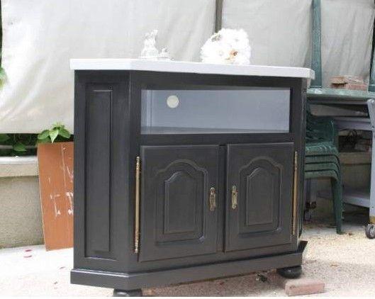 rsultat de recherche dimages pour meuble tv dangle noir - Meuble Tv D Angle Noir