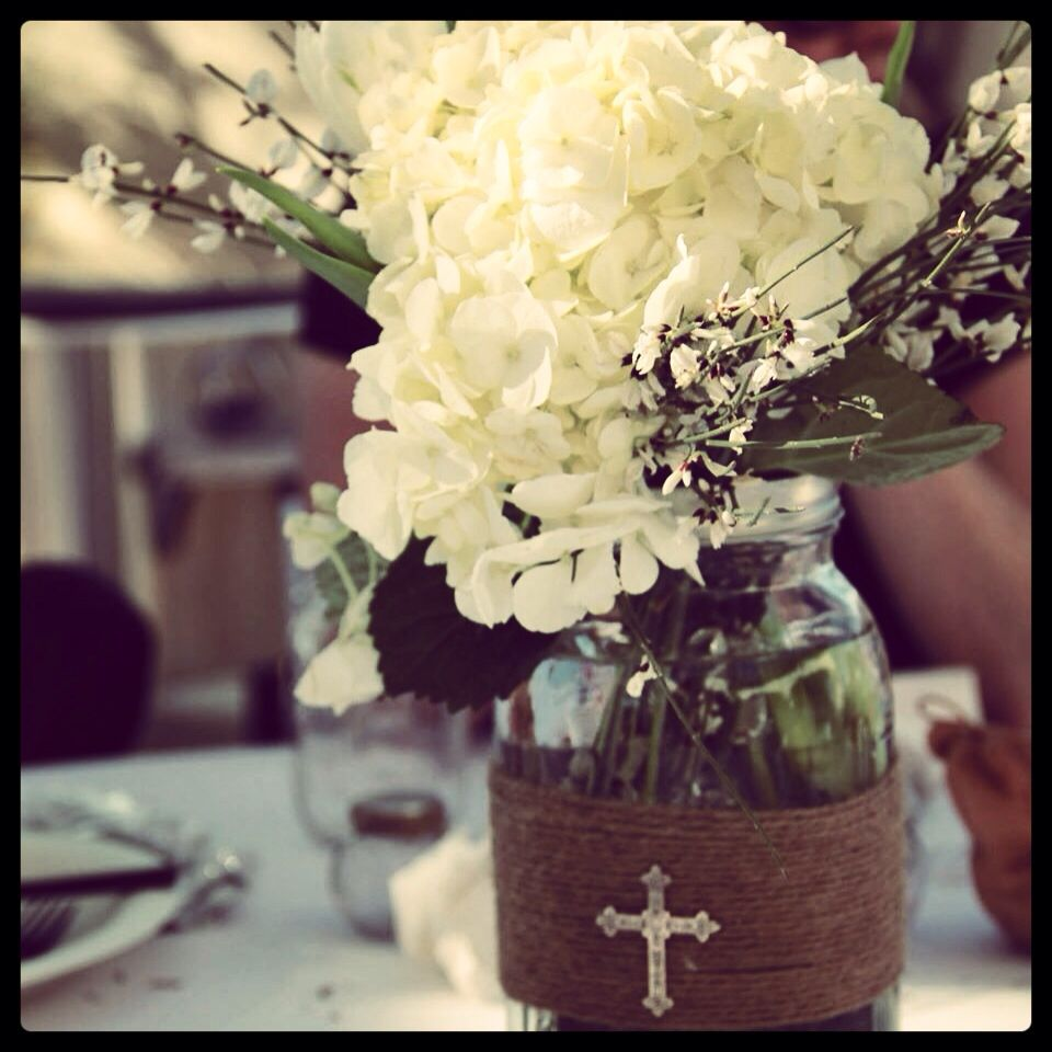 Centerpieces for a baptism celebration all you need are