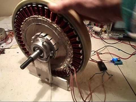 Ac Dc 6 Bldc From Washer Motor You