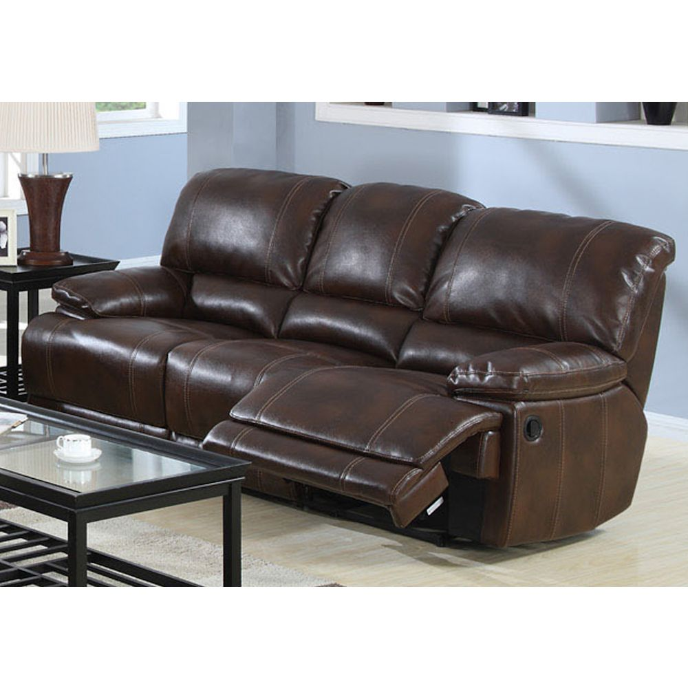 Best Darius Hudson Brown Leather Reclining Sofa Furniture 400 x 300