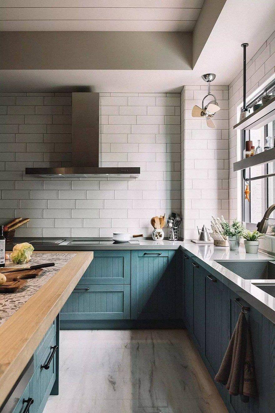 The Bridge House In Tainan City Taiwan Hao Design Simple Kitchen Cabinets Simple Kitchen Interior Design Kitchen