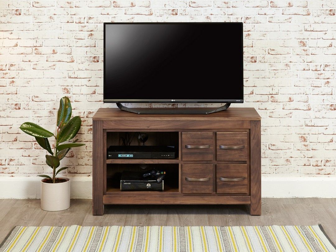 bonsoni mayan walnut four drawer television cabinet the overall dimensions of the cabinet are h60 x
