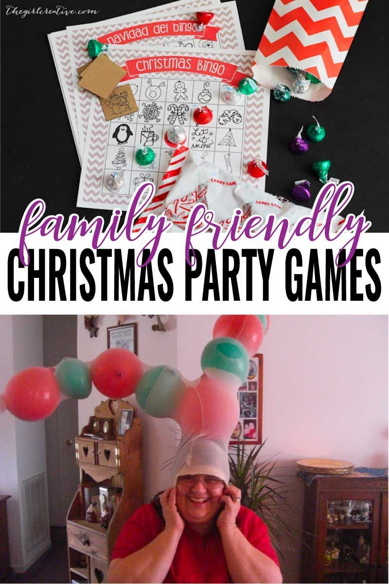 Hilarious Christmas Party Games These Christmas party games look like loads of fun for the whole family