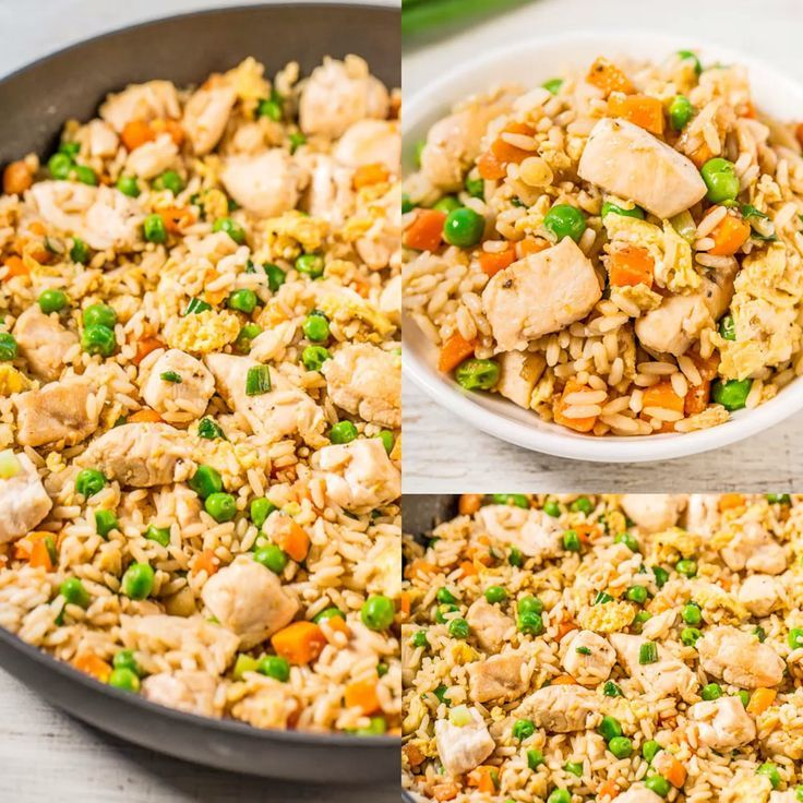 Easy Better-Than-Takeout Chicken Fried Rice