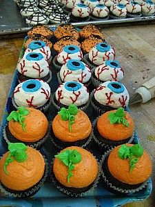 halloween cakes and cupcakes ideas