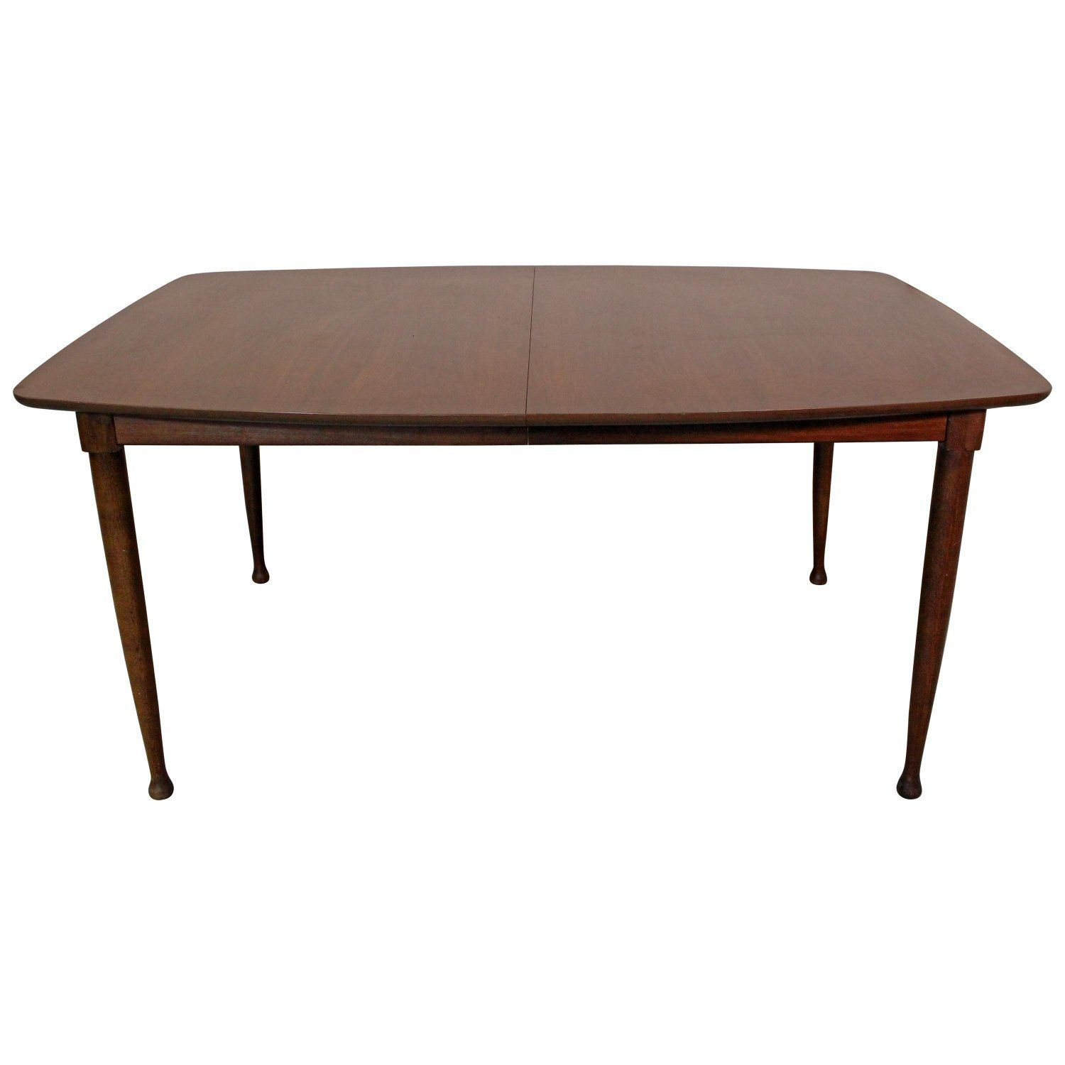 Mid Century Modern Walnut Surfboard Dining Table With Images