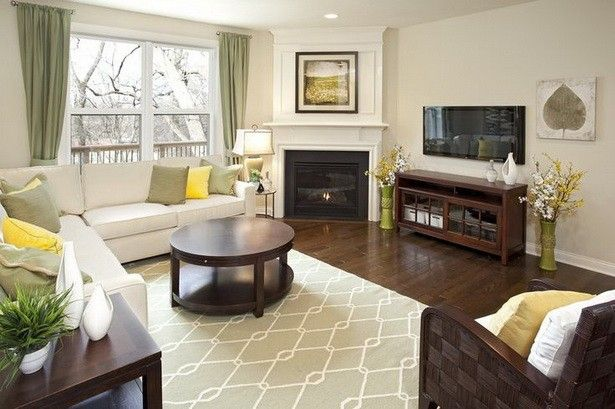 Cozy Living Rooms With Corner Fireplace Concept Ideas Corner
