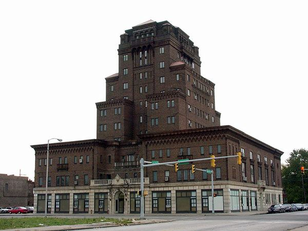 Gary Indiana Knights Of Columbus Building