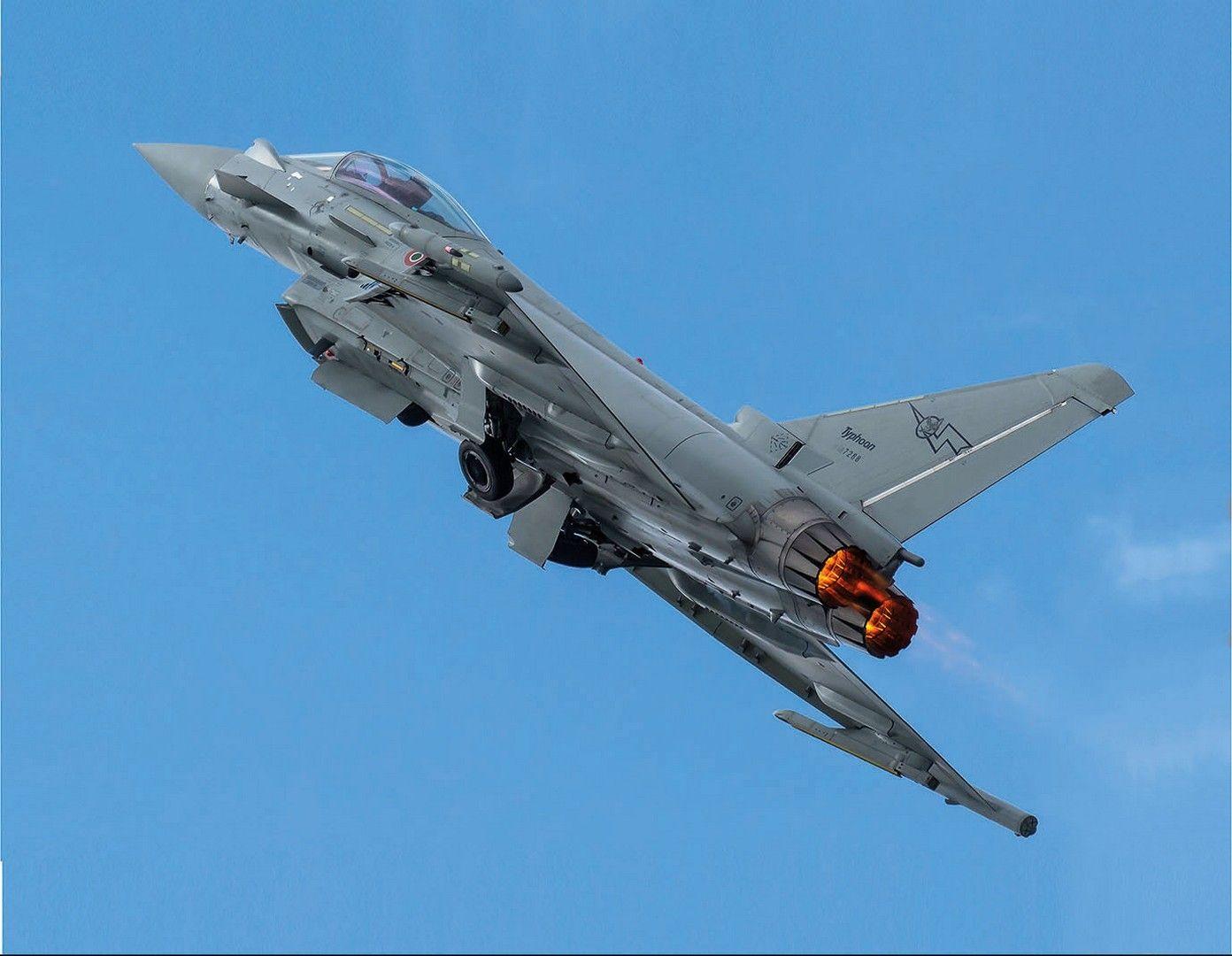 Обои самолеты, Eurofighter typhoon. Авиация foto 13