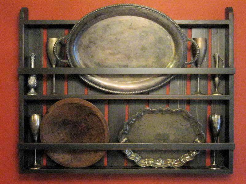 Display & Unique Handmade Wood Plate Racks | Wall display | Pinterest ...