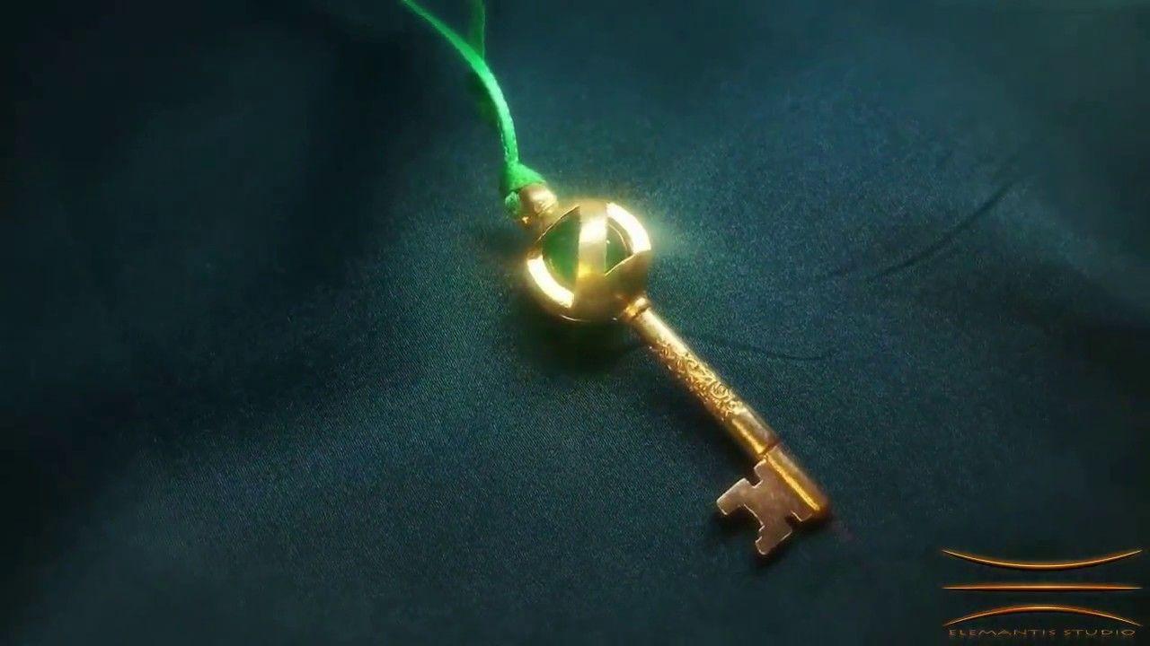 """Return to Oz"" Oz Portal Key Pendant (Right-Click ""Loop"") #ReturntoOz #WizardofOz #returntoozkey"