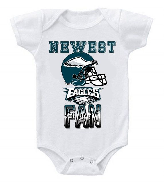 47ab3462f NEW Football Baby Bodysuits Creeper NFL Philadelphia Eagles #2 ...