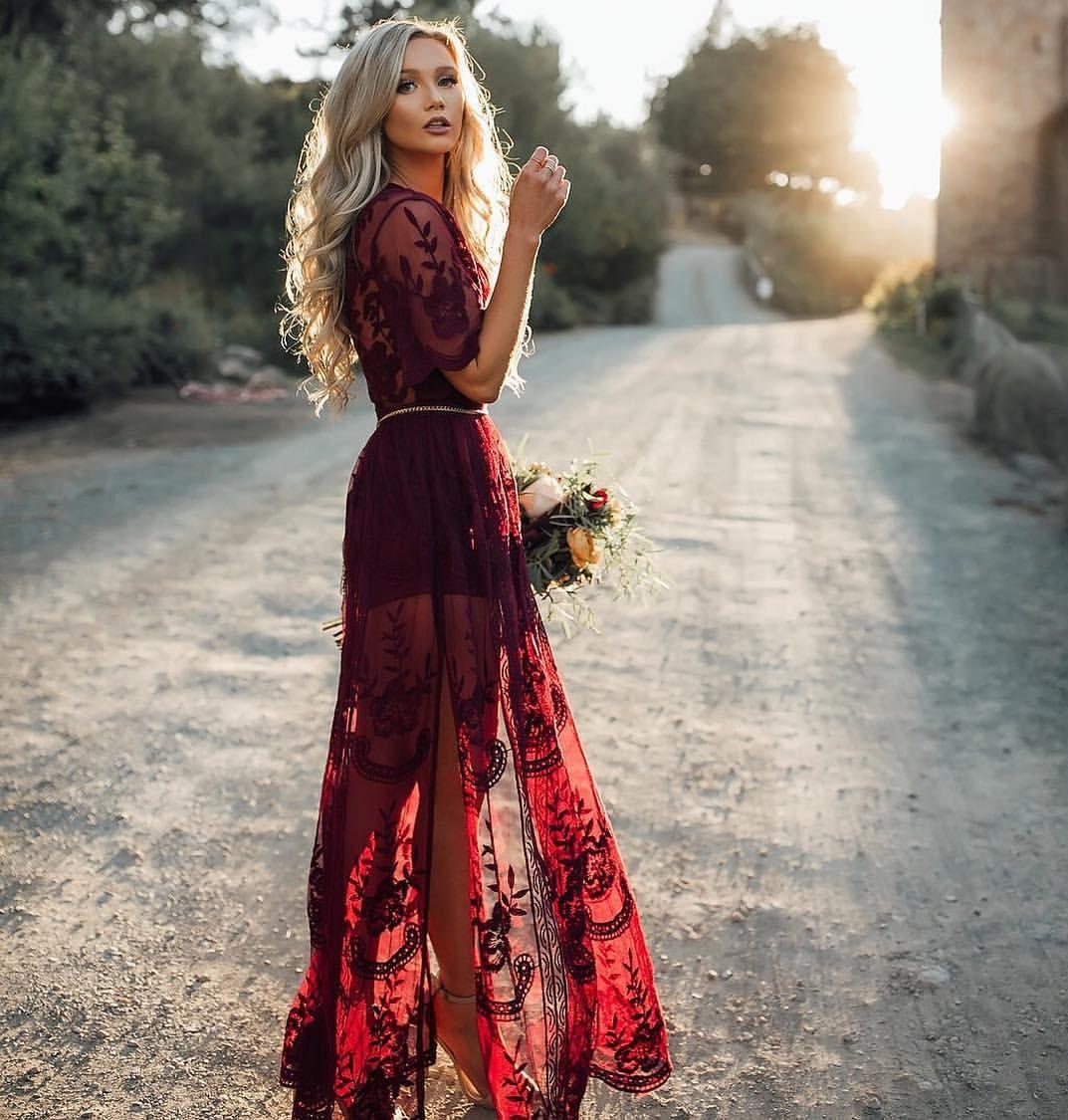 """Altar Ego Wedding: Alter Ego Fashions On Instagram: """"The Chloe Maxi In WINE"""