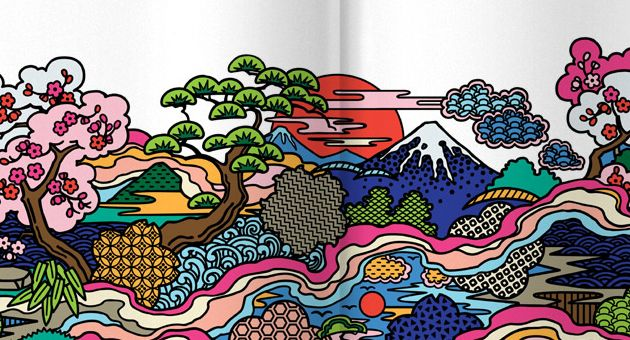 Japanese Woshi-Woshi visual identity and packaging