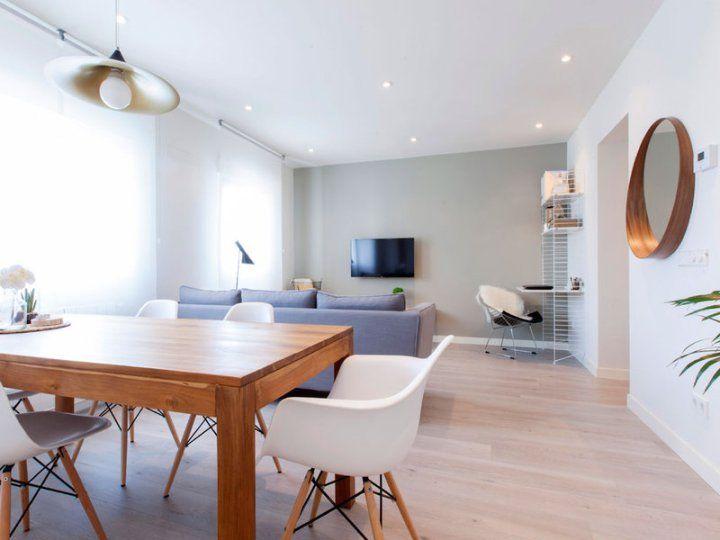 piso de estilo nrdico en madrid comedor modernoblog