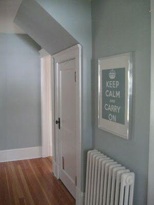 18 best paint colors images on Pinterest  Muted Blue Grey Paint Color