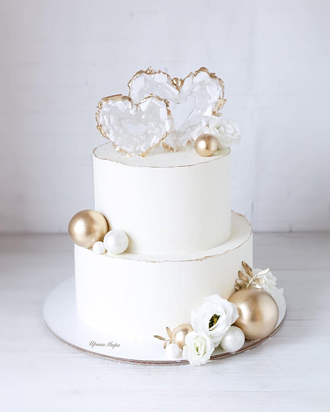 """Photo of CakesDonskoy Novomoskovsk auf Instagram: """"Goldene Hochzeit …"""