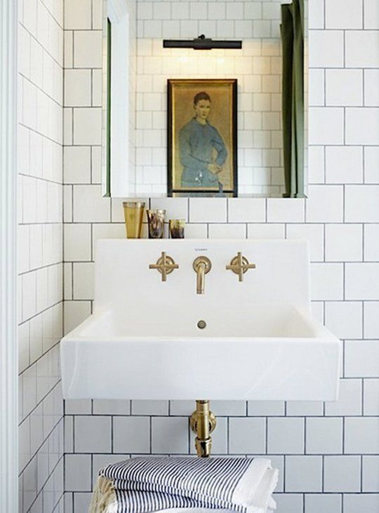 Bathroom Faucets Easy To Clean how to pull off this easy-to-clean & affordable trend: square