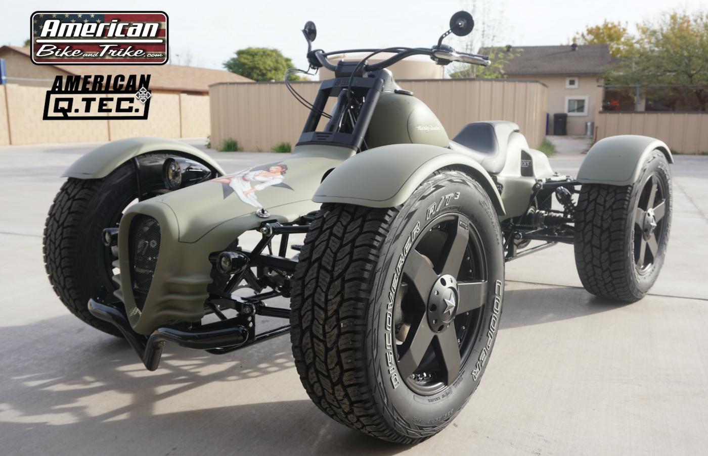 American Bike And Trike Motorcycle Conversions Trikes