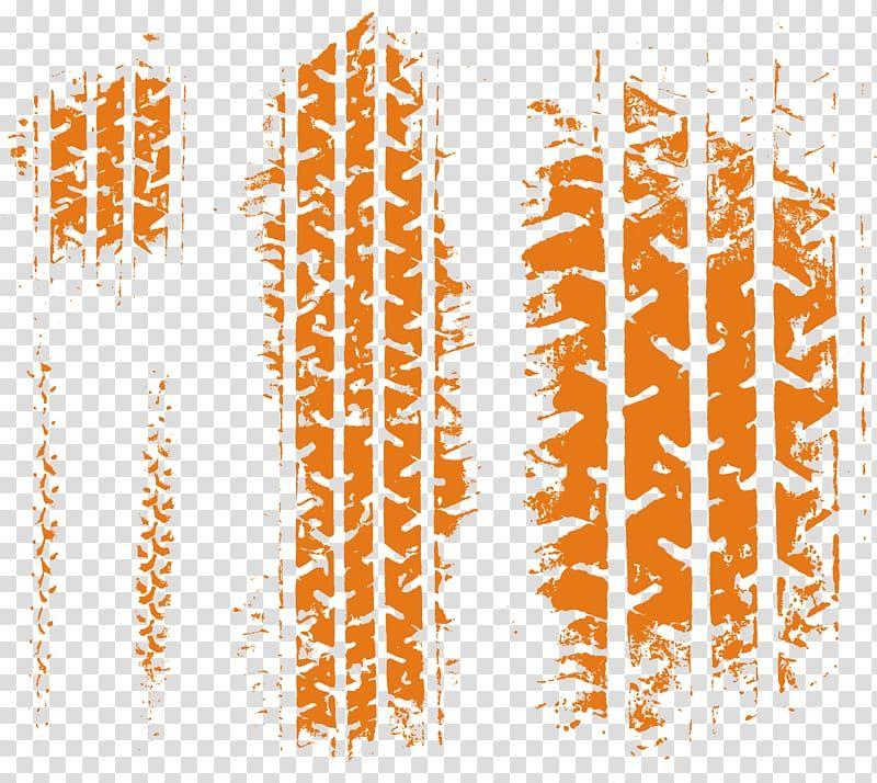 Orange Track Illustration Car Tire Tread Skid Mark Truck Tire Tracks Transparent Background Png Clipart Tire Tracks Car Tires Monster Truck Art
