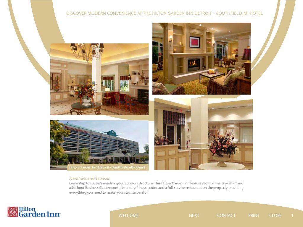 Hilton Garden Inn Detroit Southfield - Lobby | Hilton Garden Inn ...