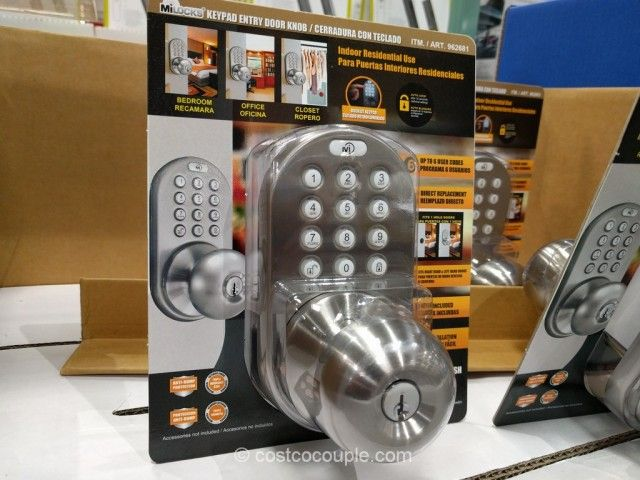 Mi Products Keyless Electronic Keypad Entry Door Knob Costco
