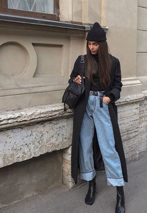 Street Style   id  es inspiration tenues automne-hiver  lifestyle  fashion  mode      automnehiver...
