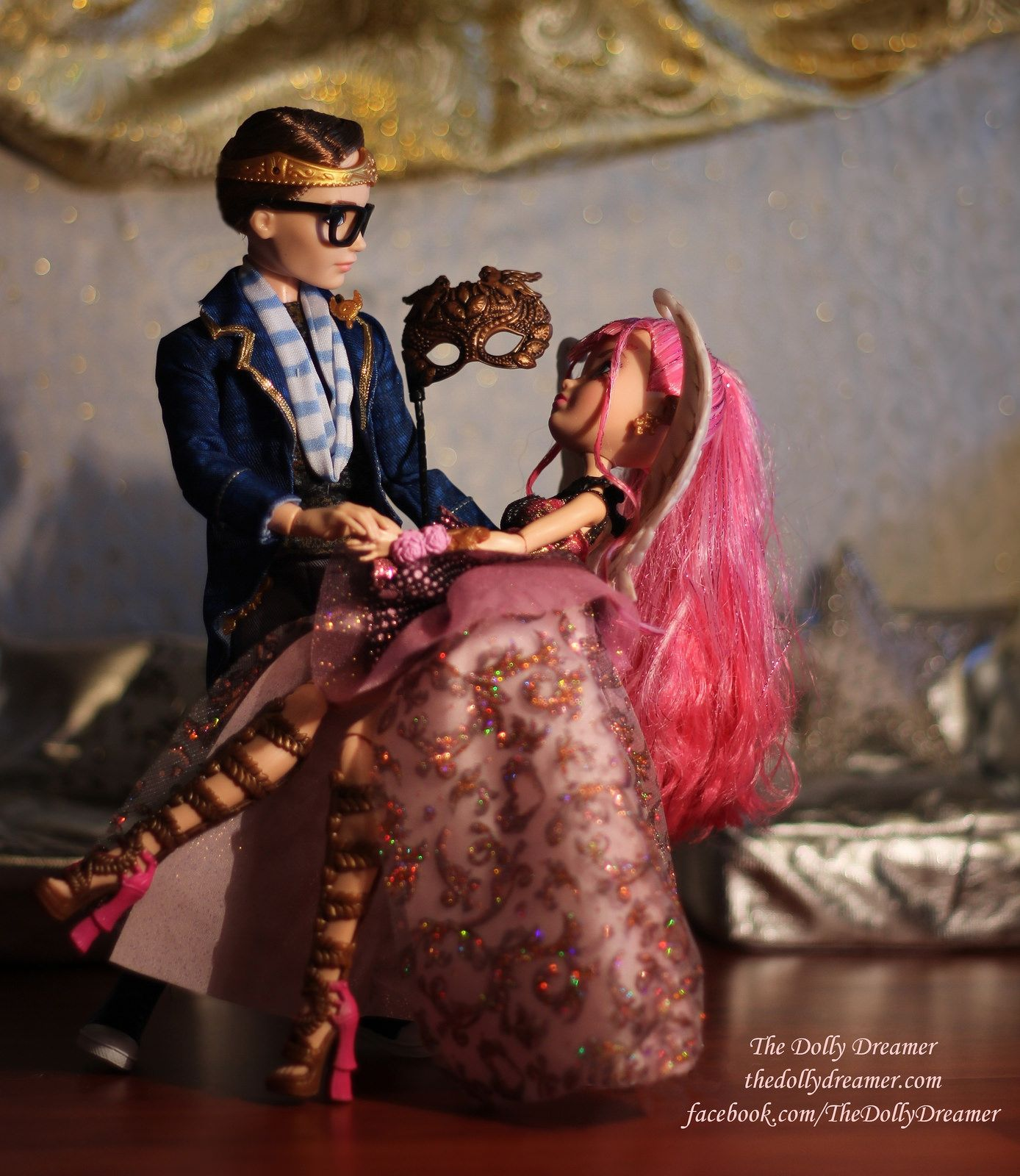 Ever After High C.A. Cupid and Dexter Charming