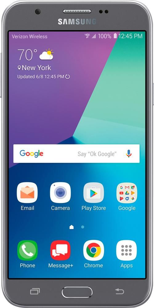 Verizon Prepaid Samsung Galaxy J3 Mission 4g With 16gb Memory