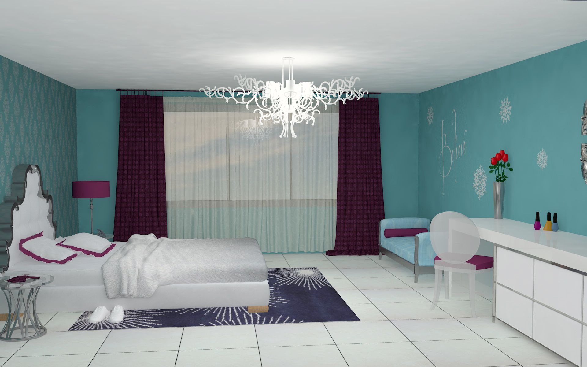 Frozen inspired bedroom - 1000 Images About Bedroom On Pinterest Snowflakes Art Decor And Light Switches