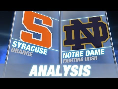#B.J. Johnson Leads Syracuse to Upset Win Over #9 Notre Dame